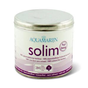 Een blik Aquamarijn Solim Basis Hardwax