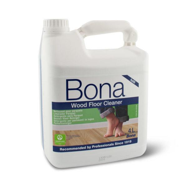Een can Bona Houten Vloer Reiniger van 5 liter