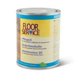 Een blik Floorservice Onderhoudsolie naturel