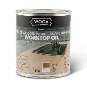 Een Blik Woca Werkbladenolie